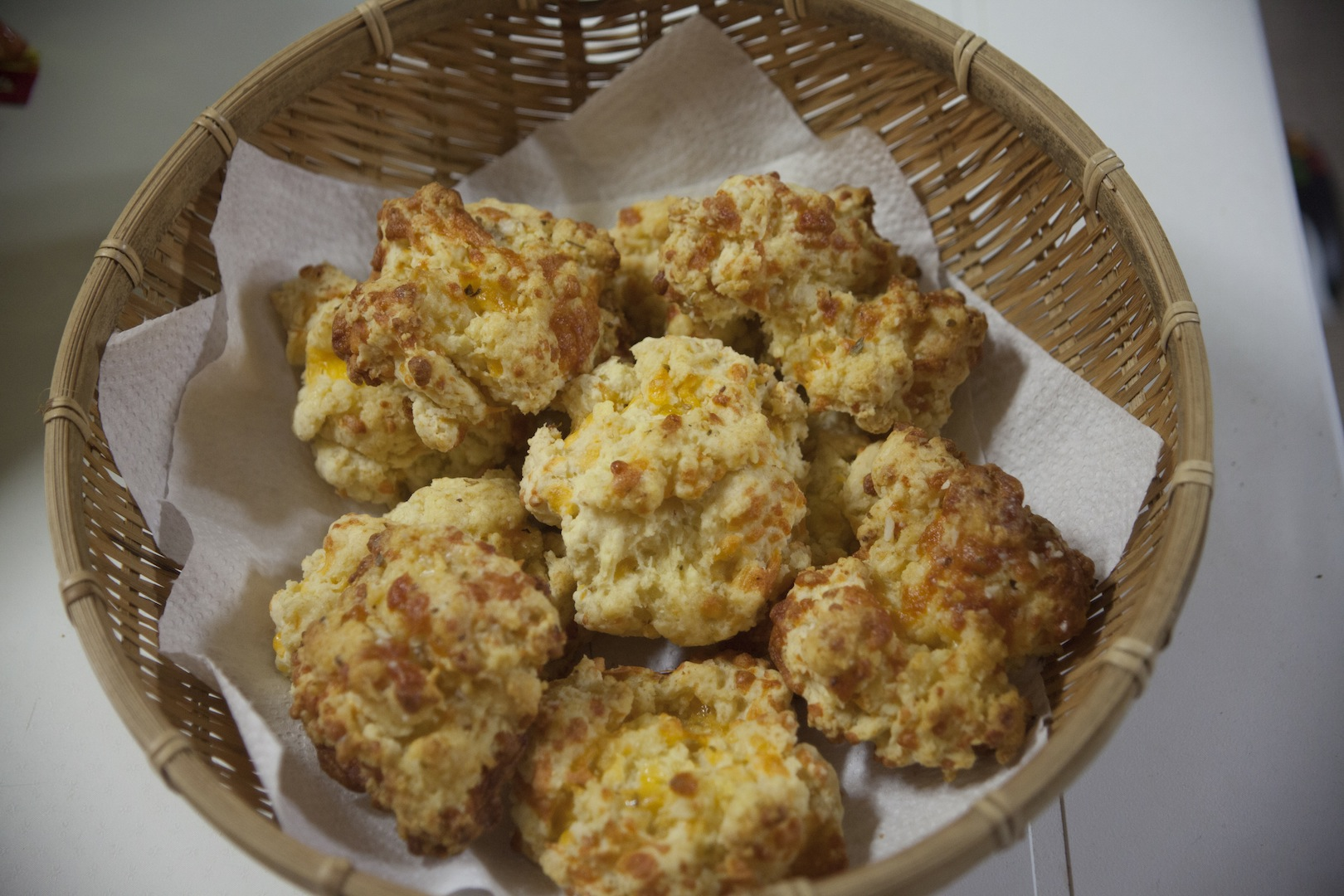 Recipes: cheddar garlic biscuits