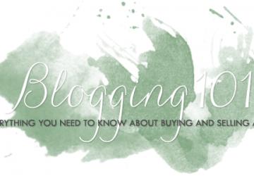 Blogging 101: The Sponsor Game
