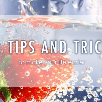 21 Tips and Tricks to make your life easier! #lifehacks #householdtips #tips