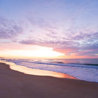 Sunrise at St Clair Beach, Dunedin