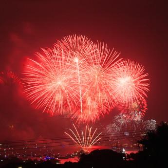 New Years Eve in Sydney Harbor
