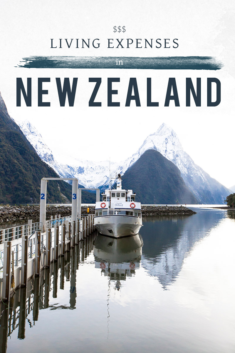 living in new zealand  a comprehensive expenses list
