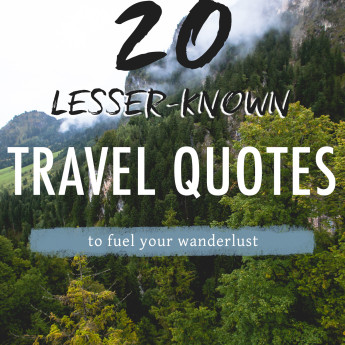 20 more travel quotes you probably haven't heard before