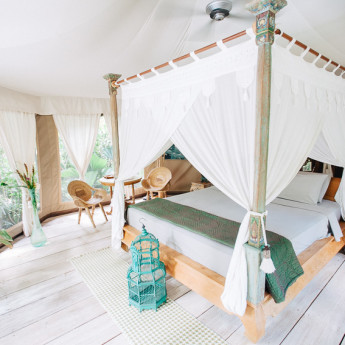 Glamping Bali with Sandat Tents