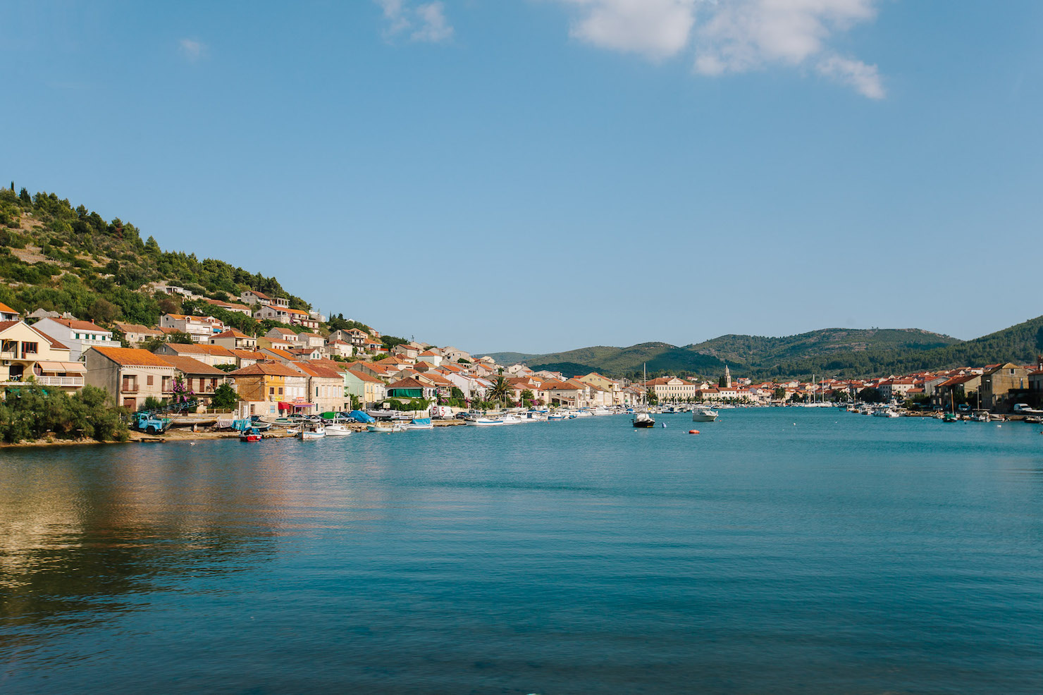Korcula Town To Stari Grad With Medsailors Living In